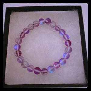 Violet Purple Moonstone Bracelet